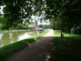 voie verte langs het kanaal (fietsroute)