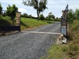 aankomst bij de poort